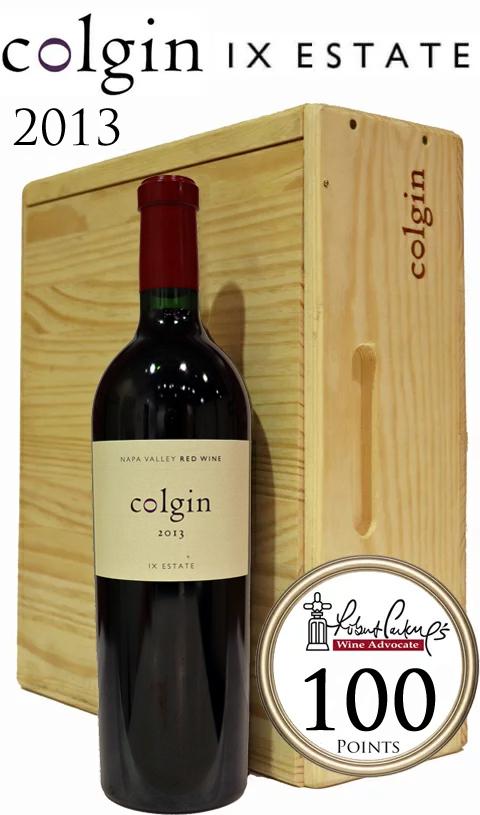 2013 コルギン ナンバーナイン エステート レッド [2013]アイエックス エステイトColgin IX Proprietary Estate Red 750ml 木箱