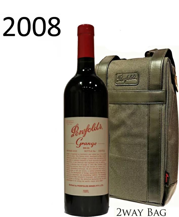 2WAY バッグとグランジ[2008]ペンフォールドペンフォールズ Grange Penfolds 750ml OFFICIAL BAG 2WAY