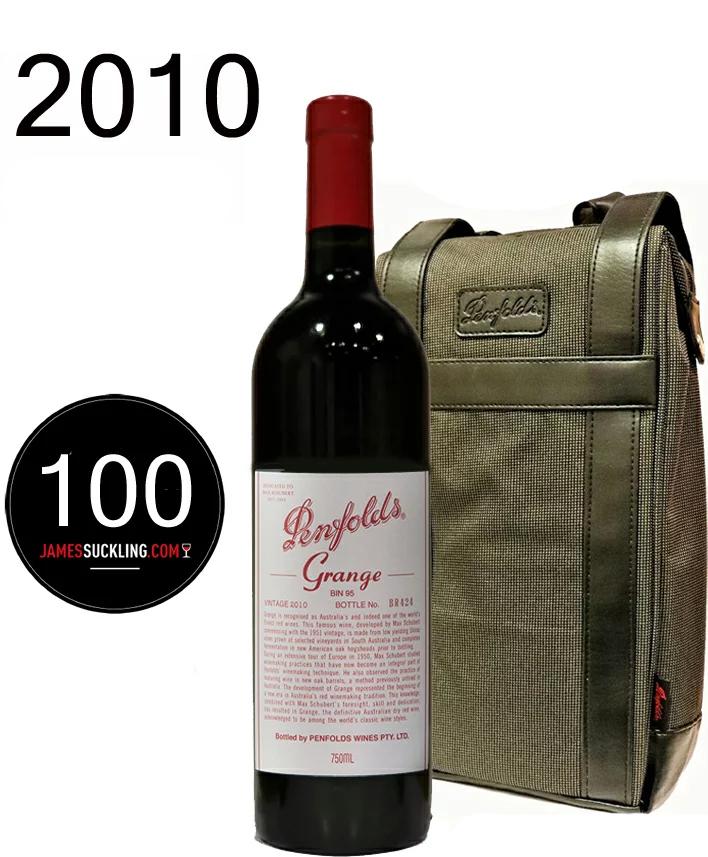 Jサックリングが史上最高の100点満点  2WAY バッグとグランジ[2010]ペンフォールドペンフォールズ Grange Penfolds 750ml OFFICIAL BAG 2WAY