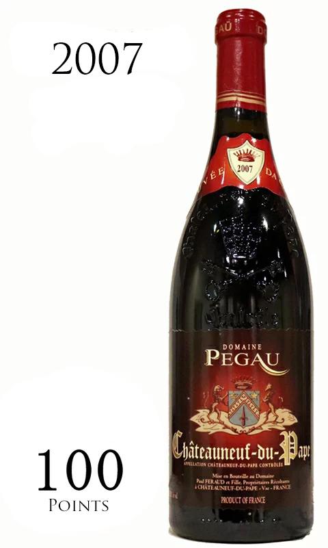 キュヴェ・ダ・カポ シャトーヌフ・デュ・パプ ドメーヌ デュ ペゴー[2007]Cuvee DA CAPO Chateauneuf du Pape Rouge Domaine du Pegau 赤