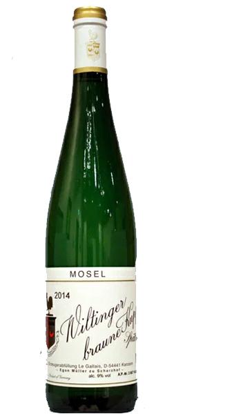 エゴンミュラー ヴィルティンガー ブラウネクップ リースリング シュペトレーゼ[2014]EGON MULLER Wiltinger braune Kupp Riesling Spaetlese