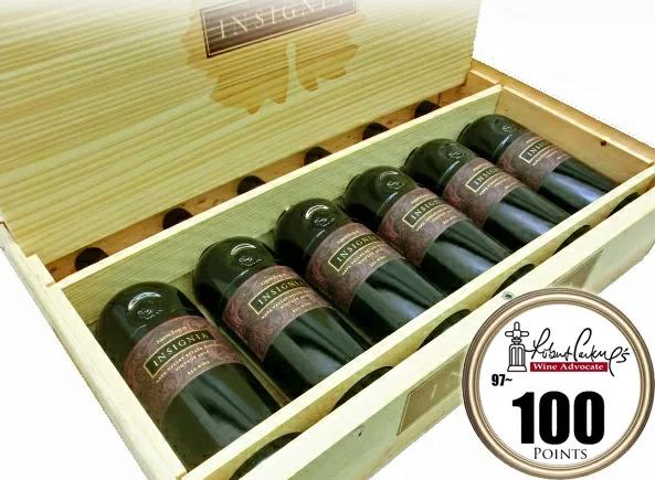 6本セット ジョセフ・フェルプス インシグニア[2015]木箱付きINSIGNIA Joseph Phelps Vineyards Cabernet 750ml×6本