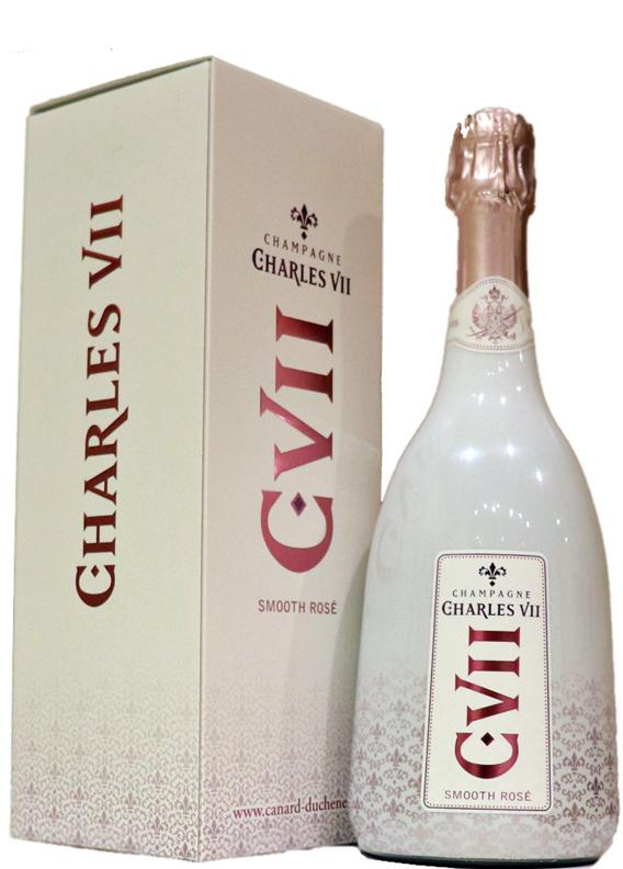 限定のプレステージロゼ スリーヴァーボトル カナール ※ラッピング ※ デュシェーヌ シャルル 直営限定アウトレット 7世 スムース ロゼ NV シャンパーニュ VII champagne SMOOTH ROSE CHARLES ディシェーヌ Canard-Duchene