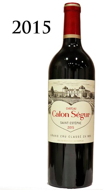 シャトーカロンセギュール [2015]Chateu Calon-Segur 750ml