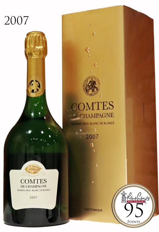 テタンジェ コント・ド・シャンパーニュ ブランドブラン ミレジム[2007]TAITTINGER Comtes de Champagne Blanc de Blancs Millesime BOX