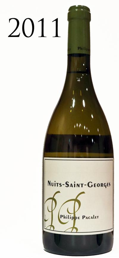 フィリップ・パカレ ニュイサンジョルジュ ブラン[2011]Philippe Pacalet Nuits-Saint-Gerges Blanc シャルドネ 750ml
