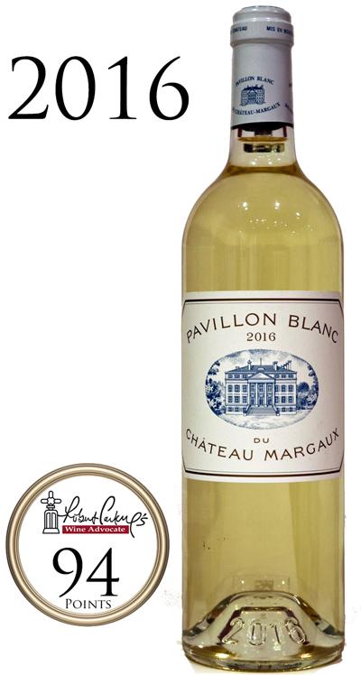 パヴィヨン・ブラン・デュ・シャトー・マルゴー[2016]PAVILLON BLANC DU CH.MARGAUX Chateau Margaux Grand Cru 750ml ボルドー メドック 第一級 白ワイン