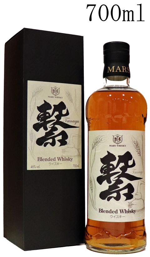 マルスウイスキー 繋(つなぐ)ブレンドッド 駒ヶ岳 津貫<BR>Shinshu Mars Distillery Blended Whisky 700ml 46%