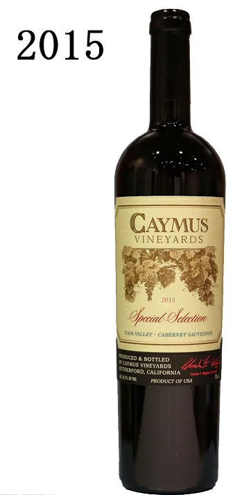 ケイマス・ヴィンヤーズ スペシャル・セレクション カベルネ・ソーヴィニョン ナパ・ヴァレー[2015]Caymus Vineyards Special Selection Cabernet Sauvignon Napa Valley 750ml