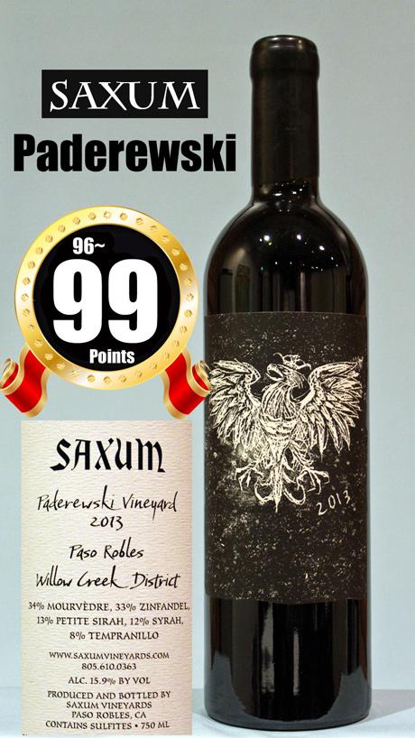 サクソン パデレフスキヴィンヤード[2013]サクサムSaxum Paderewski Vineyard