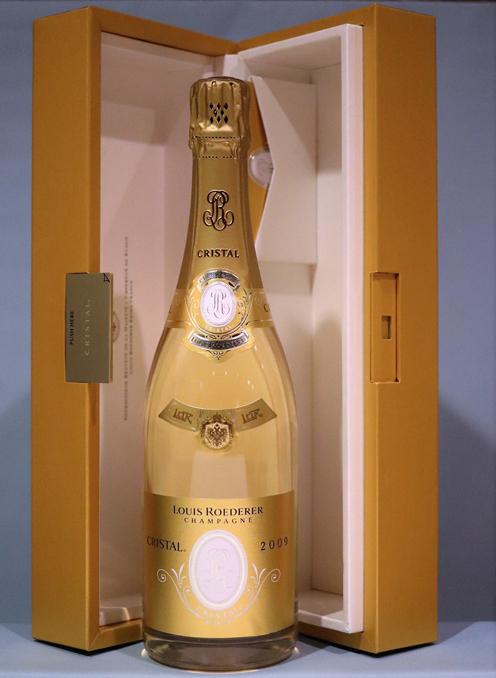 クリスタル [2009]ルイ ロデレールCRISTAL LOUIS ROEDERER 【Box】 750ml シャンパーニュ