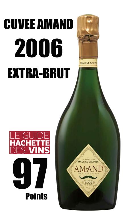 モーリス グルミエ キュヴェ アマン エクストラブリュット[2006]MAURICE GRUMIER CUVEE AMAND EXTRA-BRUT Unfiltered Champagne シャンパーニュ ノンフィルター