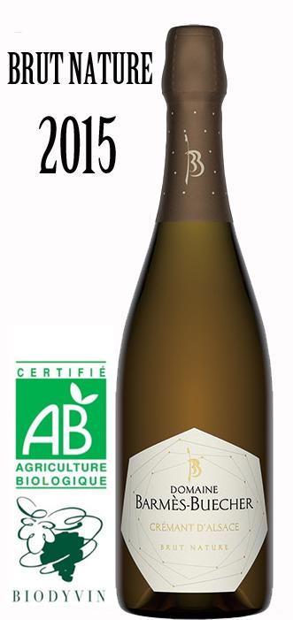 バルメ ブシェール クレマンダルザス ブリュットナチューレ ゼロドサージュ[2015]BARMES BUECHER Cremant d'Alsace Brut Nature 750ml