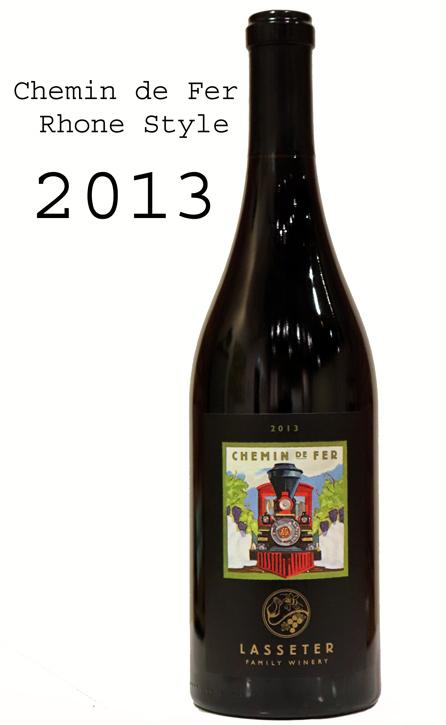 ラセター・ファミリー・ワイナリー [2013]シュマン・ド・フェール ローヌ・スタイル レッド・ブレンド・ワイン ソノマ・ヴァレー Lasseter Family Winery Chemin de Fer Rhone Style Red Blend Wine Sonoma Valley