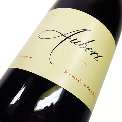オーベール [2012] UVヴィンヤード ピノ・ノワール 750ml【Aubert UV Vineyard Sonoma Coast Pinot Noir】