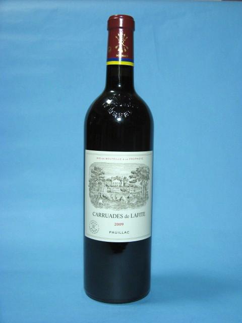 カリュアド・ド・ラフィット[2009]750mI【結婚記念日】【赤ワイン 】【コク辛口】【お中元】【お歳暮】【ワインギフト】