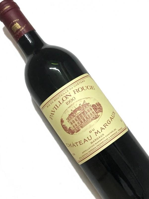 [1990]パヴィヨン ・ルージュ ・デュ CHマルゴー 750mI【結婚記念日】 【赤ワイン 】【コク辛口】【誕生年】