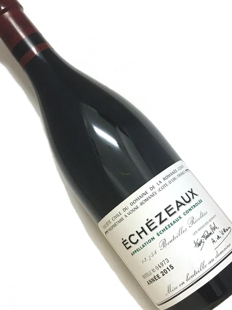 【DRC】[2015]エシェゾー750mi【結婚記念日】 【赤ワイン 】【誕生年】【お歳暮】【ワインギフト】《取り寄せ商品に付画像はイメージです。》