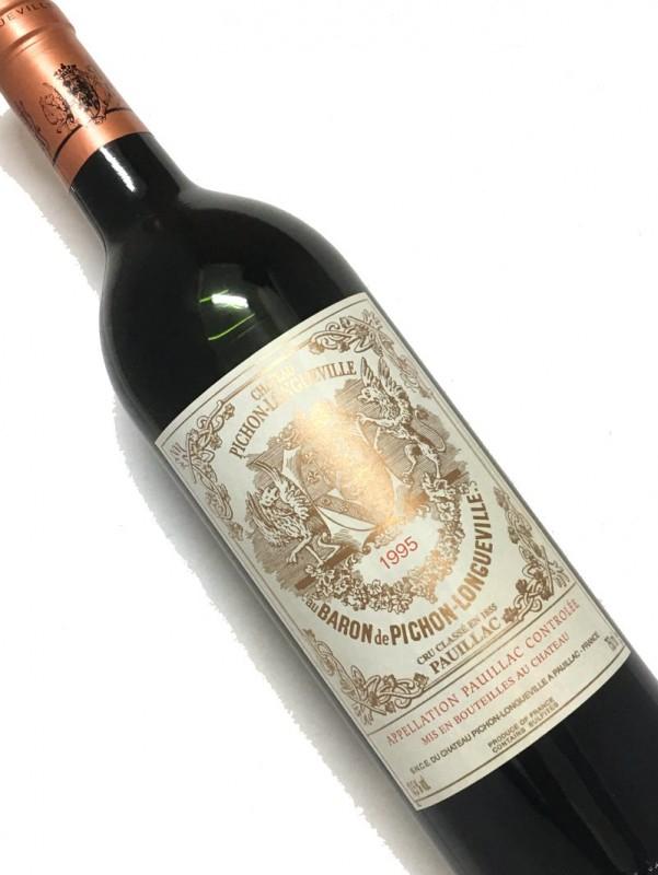 1995年 シャトー・ ピション・ ロングヴィル ・バロン 750ml 【結婚記念日】 【赤ワイン 】【コク辛口】【お中元】【お歳暮】【ワインギフト】《取り寄せ商品》