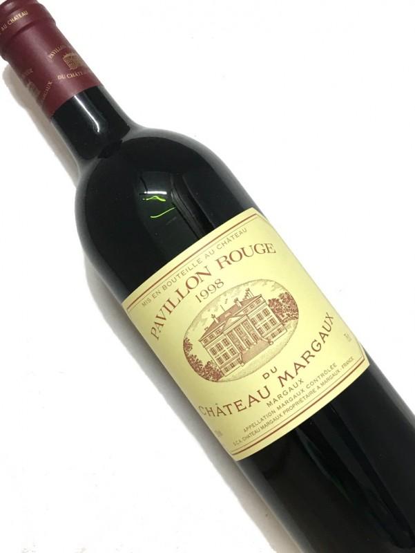 [1998]パヴィヨン ・ルージュ ・デュ CHマルゴー750mI【結婚記念日】 【赤ワイン 】【コク辛口】【誕生年】《取り寄せ商品に付画像はイメージです。》