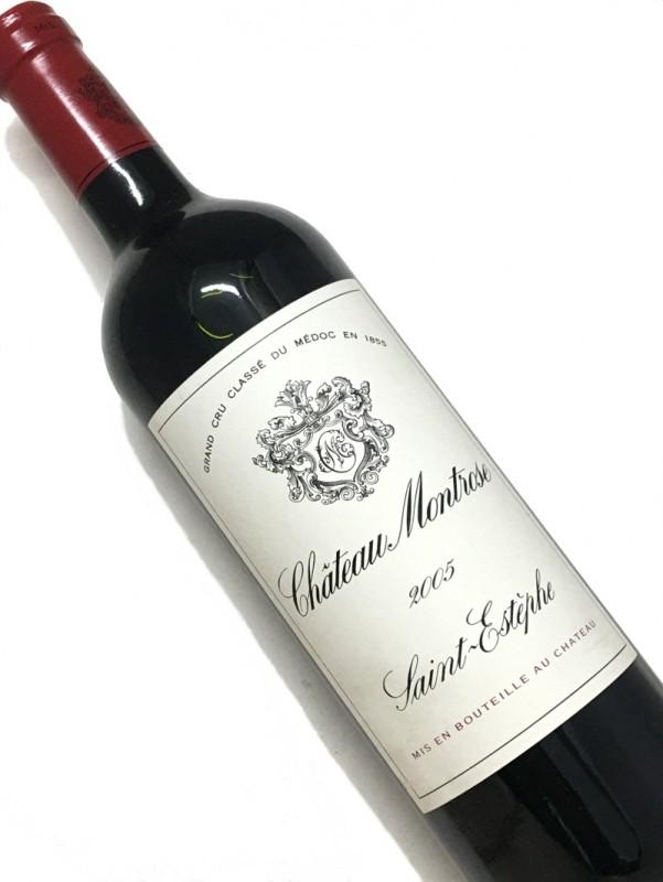 2005年 シャトー モンローズ 750ml 【結婚記念日】 【赤ワイン 】【誕生年】【母の日】【お歳暮】【ワインギフト】《取り寄せ商品》