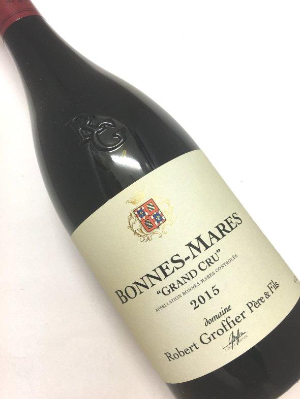 ロベール・グロフィエ[2015]ボンヌ・マール 750mi【結婚記念日】 【赤ワイン 】【誕生年】【お歳暮】【ワインギフト】《取り寄せ商品》