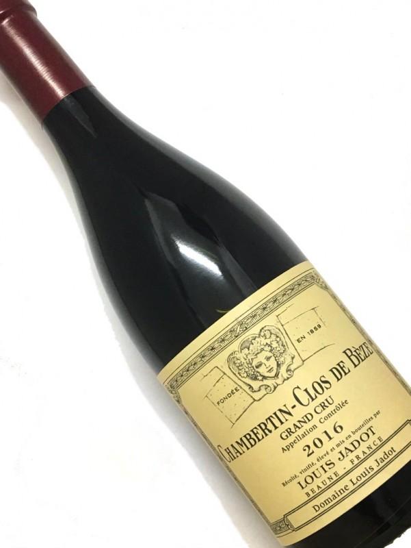 ドメーヌ・ルイ・ジャド [2016]シャンベルタン・クロ・ド・ベズ 750mi【結婚記念日】 【赤ワイン 】【誕生年】【お歳暮】【ワインギフト】《取り寄せ商品》