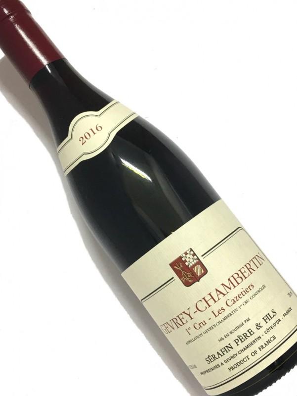 ドメーヌ・ セラファン [2016]ジュヴレ・シャンベルタン・1er・レ・カズティエ 750mi【結婚記念日】 【赤ワイン 】【誕生年】【お歳暮】【ワインギフト】《取り寄せ商品》