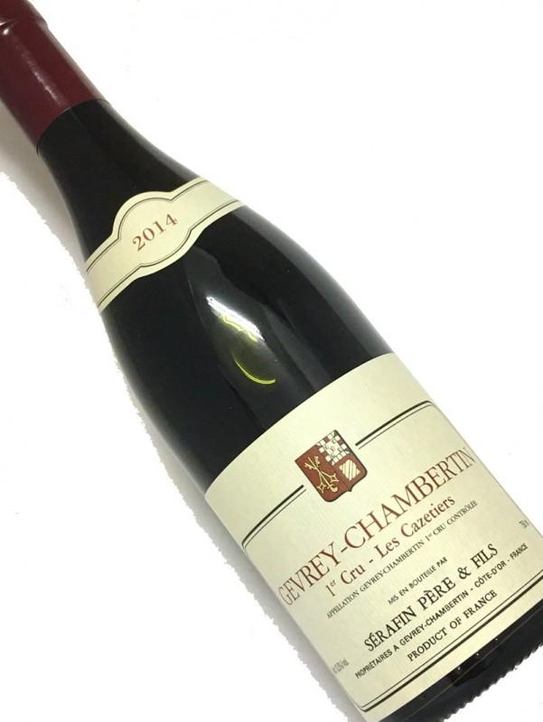 ドメーヌ・ セラファン [2014]ジュヴレ・シャンベルタン・1er・レ・カズティエ 750mi【結婚記念日】 【赤ワイン 】【誕生年】【お歳暮】【ワインギフト】《取り寄せ商品》