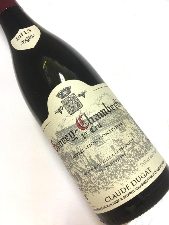 【ドメーヌ・ クロード デュガ 】[2015]ジュヴレ シャンベルタン・1er750ml【結婚記念日】 【赤ワイン 】【誕生年】【母の日】【お歳暮】【ワインギフト】《取り寄せ商品》