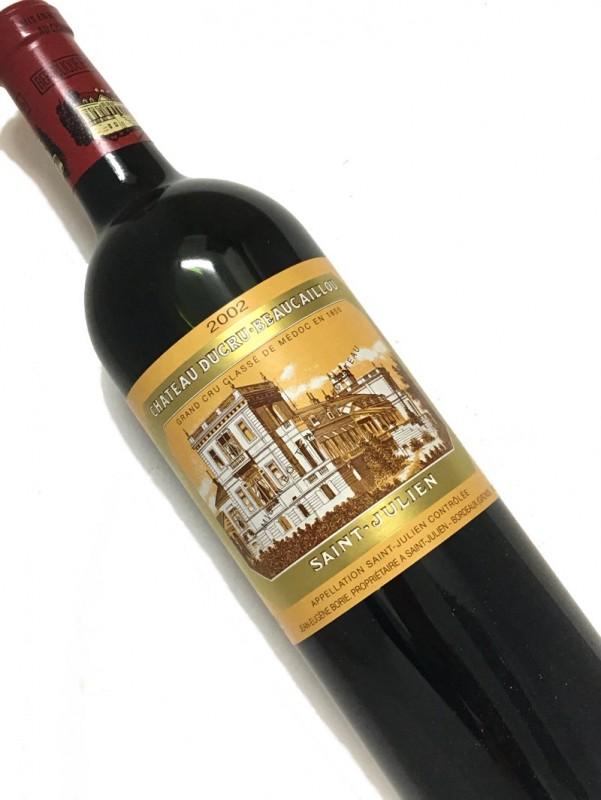 2002年 シャトー・ デュクリュ ・ボーカイユ 750mI【お中元】【結婚記念日】【赤ワイン 】【母の日】【父の日】【お歳暮】【ワインギフト】《取り寄せ商品》