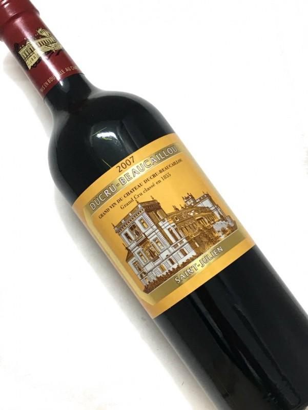 2007年 シャトー・ デュクリュ ・ボーカイユ 750mI【お中元】【結婚記念日】【赤ワイン 】【母の日】【父の日】【お歳暮】【ワインギフト】《取り寄せ商品》