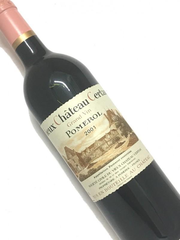 2001年 ヴュー・シャトー・セルタン 750mI【結婚記念日】 【赤ワイン 】【コク辛口】【誕生年】 【取り寄せ商品】