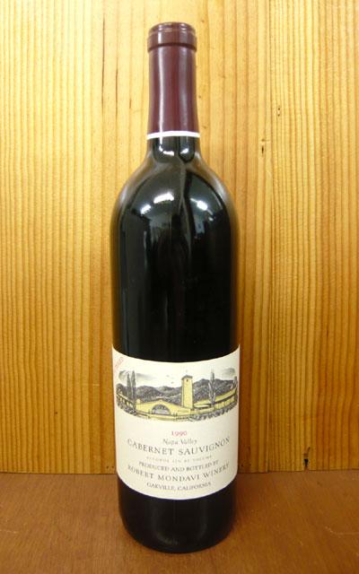 羅伯特·mondavi·墻盧內·soviniyon[1990]年最終的珍藏限定古酒非過濾器·羅伯特·mondavi·葡萄酒廠Robert Mondavi Cabernet Sauvignon[1990]Oakville(unfiltered)
