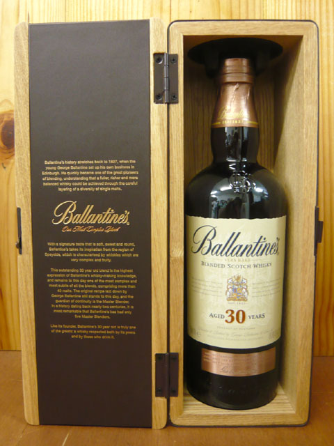 Kết quả hình ảnh cho BALLANTINE'S 30