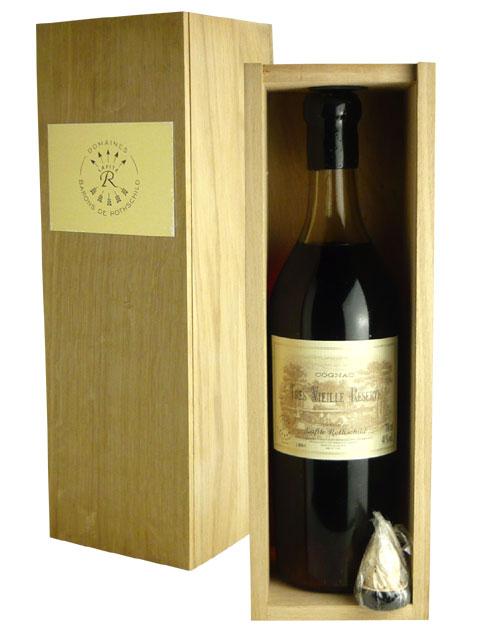 """含""""拉菲特·rotoshiruto""""tore·vieiyu·do·白蘭地酒(城堡·拉菲特·rotoshiruto)、Oak製造豪華木盒的低下封印(替栓付來)硬體酒精飲料Lafite TRES VIEILLE RESERVE DE(LAFITE ROTHSCHILD)COGNAC(Chateau Lafite Rothschild)"""