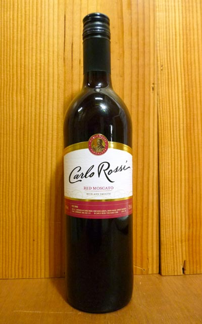 Carloロッシ紅馬斯喀特/紅/甜口/E&J/ガロ葡萄酒廠