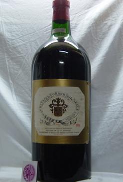 シャトー グレッシェ グラン プジョー [1982]年特大瓶5リットル