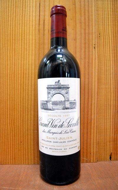 シャトー レオヴィル ラスカーズ 1997年 メドック グラン クリュ クラッセ 格付第二級 AOCサン ジュリアン(ドゥロン家) フランス 赤ワイン ワイン 辛口 フルボディ 750mlChateau Leoville Las Cases [1997] AOC Saint-Julien Grand Cru Classe du Medoc en 1855