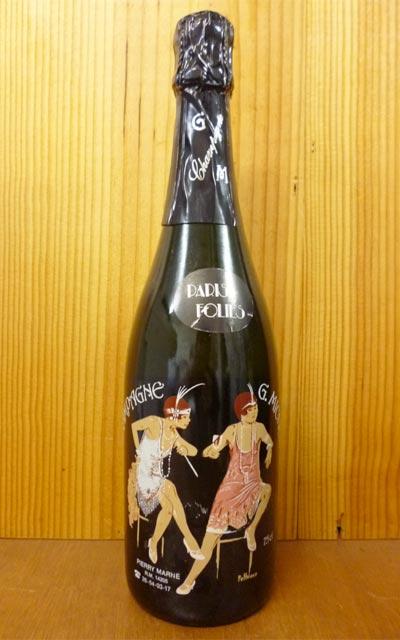 ギー ミッシェル シャンパーニュ ブリュット パリ フォリ ミレジム 1990 AOCヴィンテージ シャンパーニュ 泡 白 辛口 シャンパン 750ml (ギー・ミッシェル)Champagne Guy Michel La Cuvee Paris Folis Brut Millesime [1990] R.M AOC Millesime Champagne