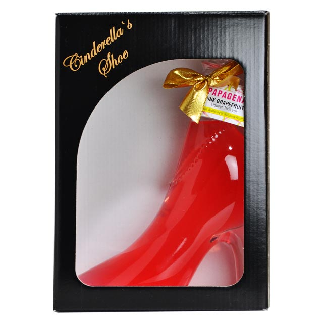 灰姑娘鞋粉紅色 (粉紅葡萄柚甜酒) 和 350 毫升 / 15 灰姑娘粉紅葡萄柚甜酒