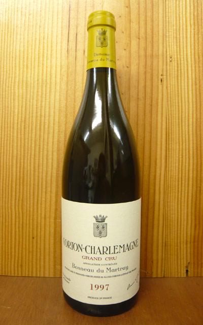 1999年 コルトン シャルルマーニュ グラン クリュ 特級 1999 ボノー デュ マルトレイ元詰 正規代理店輸入品 白ワイン ワイン 辛口 750mlCorton Charlemagne Grand Cru [1999] Domaine Bonneau du Martray AOC Corton Charlemagne Grand Cru