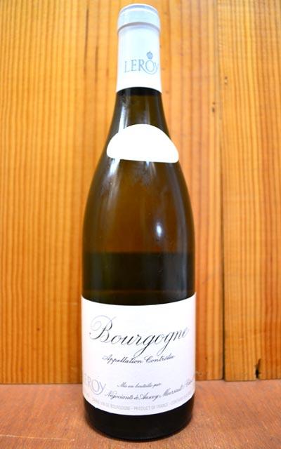 """布爾戈涅、""""fururu·do·vinyu""""含N.V、勃朗·mezon·rurowa公司、女士·rurowa的信用卡的Bourgogne""""Fleurs de Vignes""""Blanc(N.V)Leroy"""