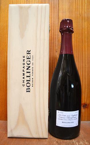 【豪華木箱入り】ボランジェ グラン クリュ 特級 コトー シャンプノワ ラ コート オー ザンファン 2013 限定蔵出し品 フランス シャンパーニュ 正規 赤ワイン フルボディ 750mlBOLLINGER Coteaux Champenois La Cote aux Enfants Millesime [2013] GW0501