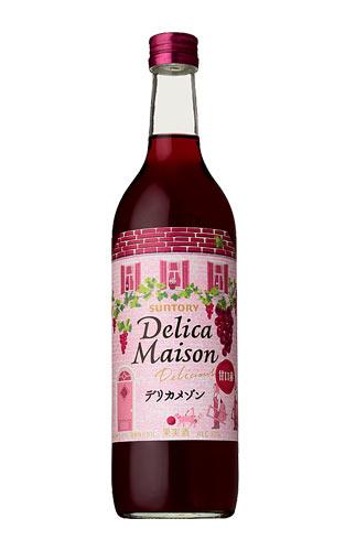 三得利·derikamezon·美味、甜口紅.720ml SUNTORY Delica Maison Delicious red 720ml