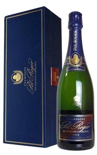 【豪華ギフト箱入】ポル ロジェ キュヴェ サー ウィンストン チャーチル ミレジメ 2008 正規 箱付 ギフト 泡 白 シャンパーニュ シャンパン ワイン 辛口 750ml (ポル・ロジェ)Pol Roger Champagne Sir Winston Churchill Millesime [2008]
