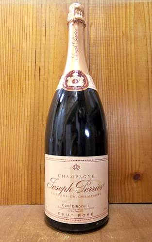 【大型マグナム】ジョセフ ペリエ シャンパーニュ ロゼ ブリュット キュヴェ ロワイヤル AOCシャンパーニュ 泡 ロゼ シャンパーニュ シャンパン ワイン 辛口 1500ml 1.5LJoseph Perrier Champagne Brut Rose Cuvee Royale (Chalons en Champagne) Mg Size