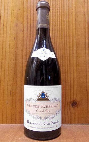 グラン エシェゾー グラン クリュ 特級 2014 ドメーヌ デュ クロ フランタン元詰 重厚ボトル 正規 赤ワイン ワイン 辛口 フルボディ 750mlGrands Echezeaux Grand Cru [2014] Domaine du Clos Frantin AOC Grands Echezeaux Grand Cru