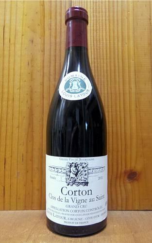 【3本以上ご購入で送料・代引無料】コルトン グラン クリュ 特級 クロ ド ラ ヴィーニュ オー サン 2011 ドメーヌ ルイ ラトゥール 赤ワイン ワイン 辛口 フルボディ 750ml (ルイ・ラトゥール)Corton Grand Cru Clos de La Vigne au Saint [2011] Domaine Louis Latour