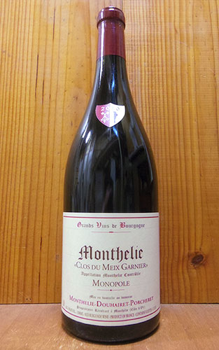【大型ボトル】2010年 モンテリー クロ デュ メ ガルニエ 2010 モノポール (単一所有畑) ドメーヌ モンテリー ドゥエレ ポルシュレ マグナムサイズ 赤ワイン ワイン 辛口 フルボディ 1500ml 1.5LMonthelie Clos du Meix Garnier (Monopole) [2010]